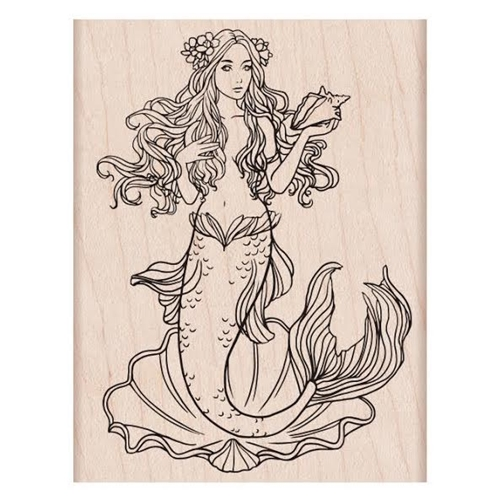 Hero Arts Rubber Stamp MERMAID K6229 Preview Image