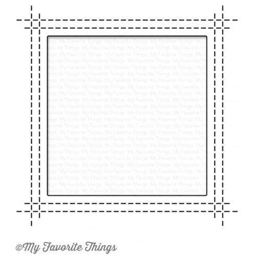 My Favorite Things SQUARE PEEK A BOO WINDOW Die-Namics MFT1113 Preview Image