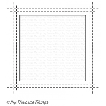 My Favorite Things SQUARE PEEK A BOO WINDOW Die-Namics MFT1113