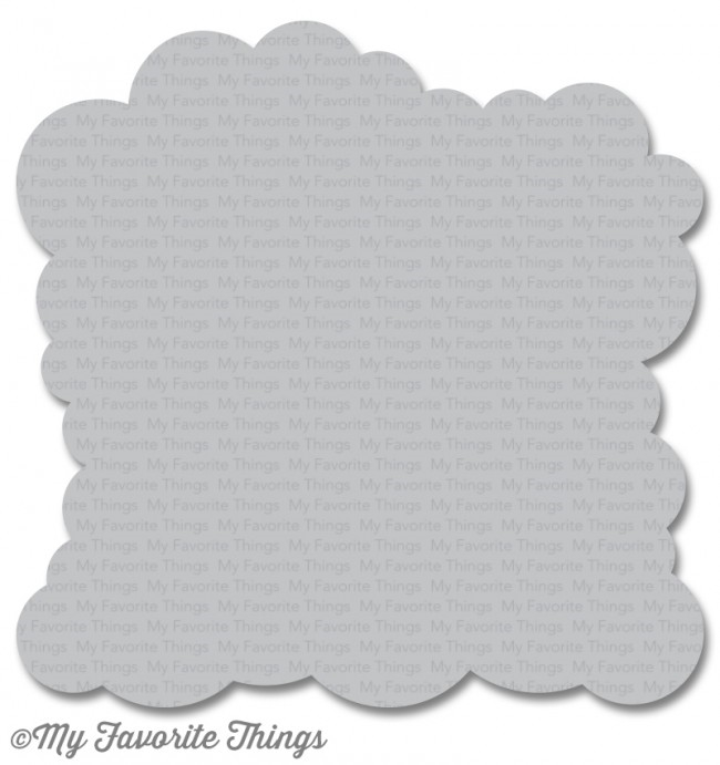 My Favorite Things Cloud Mix-ables Stencil