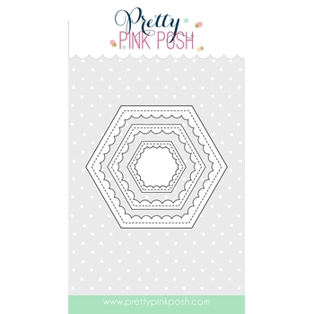 PPP Scalloped Hexagons