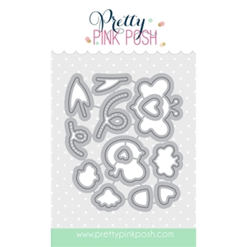 Pretty Pink Posh BEE FRIENDS COORDINATING DIE Set