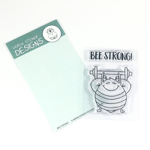 Gerda Steiner Designs BEE-STRONG Clear Stamp Set GSD591 Preview Image