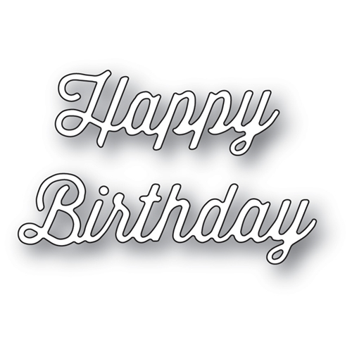 Memory Box PERKY HAPPY BIRTHDAY Craft Die 99761 Preview Image