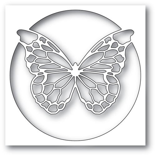 Memory Box CHANTILLY BUTTERFLY COLLAGE Craft Die 99781 Preview Image
