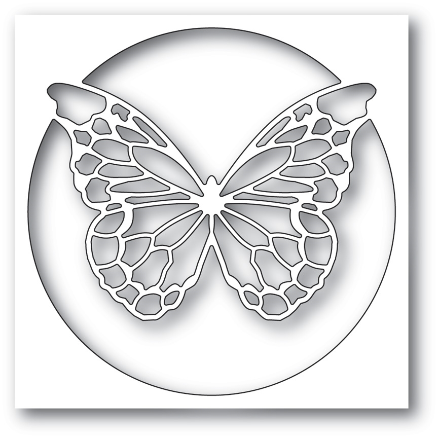 Memory Box CHANTILLY BUTTERFLY COLLAGE Craft Die 99781 zoom image