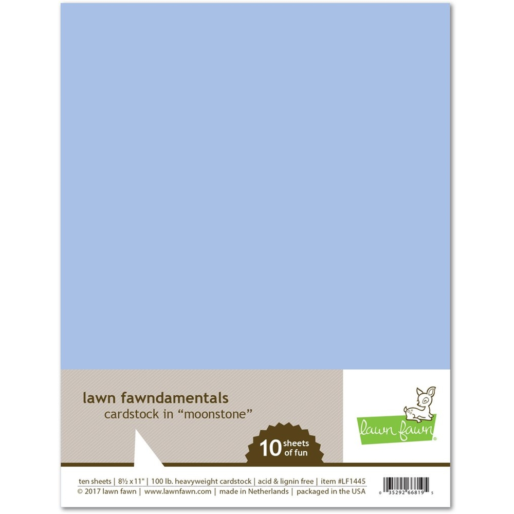 Lawn Fawn MOONSTONE Cardstock LF1445 zoom image