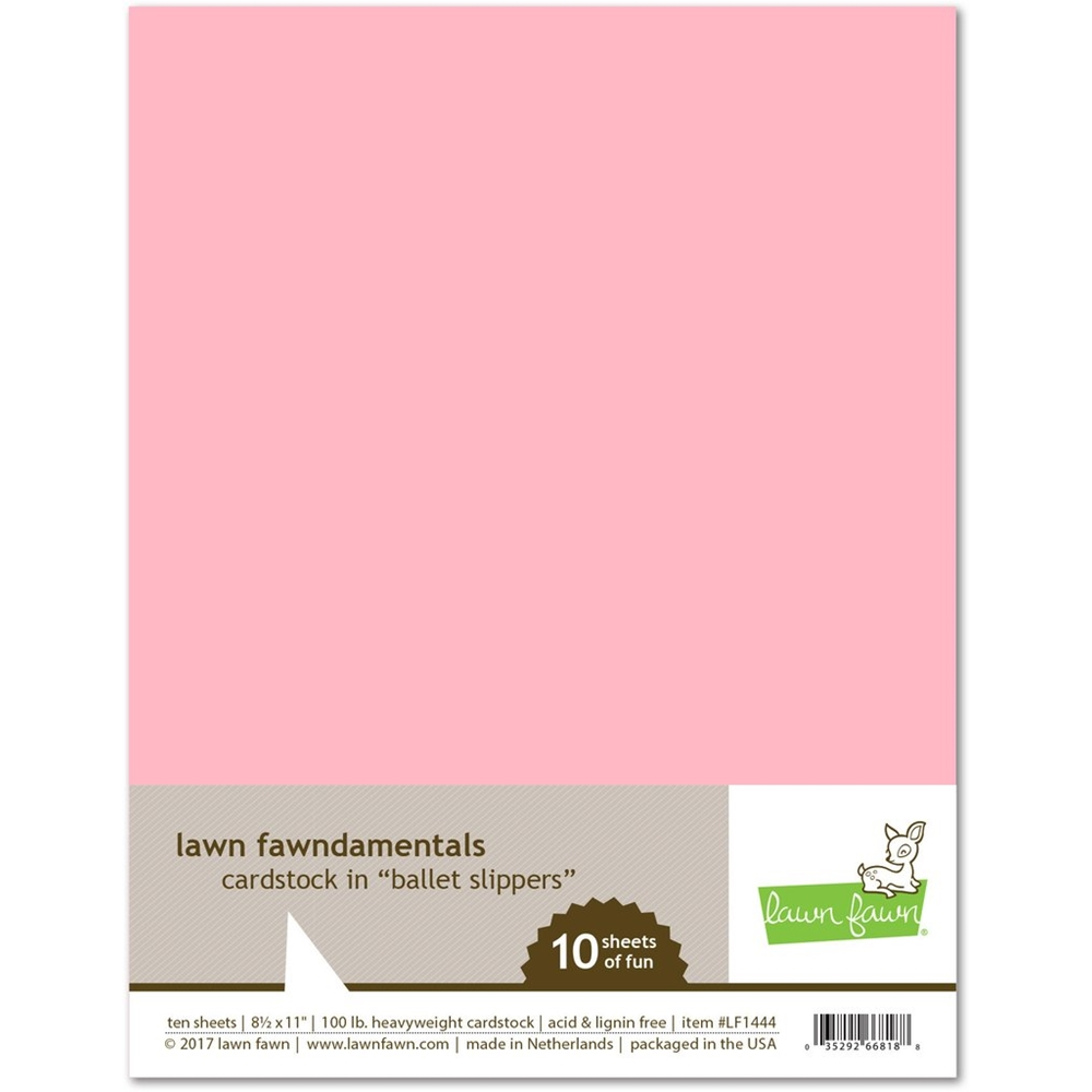 Lawn Fawn BALLET SLIPPERS Cardstock LF1444 zoom image