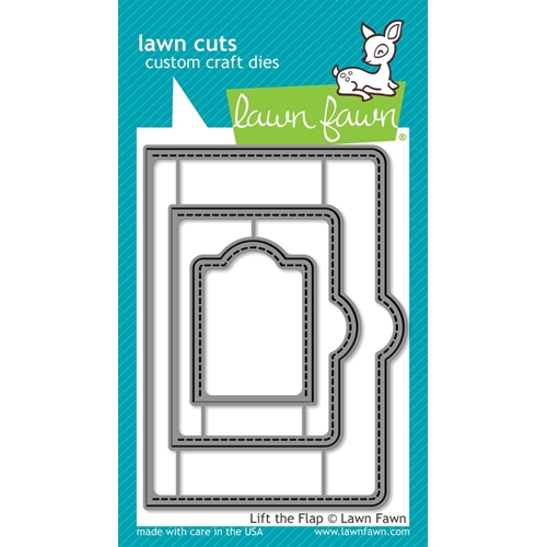 Lawn Fawn LIFT THE FLAP Lawn Cuts LF1439 Preview Image