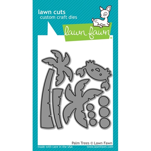 Lawn Fawn PALM TREES Lawn Cuts LF1435 Preview Image
