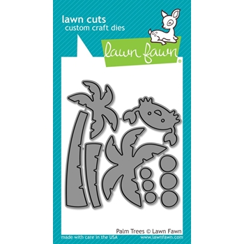 Lawn Fawn PALM TREES Lawn Cuts LF1435