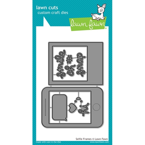 Lawn Fawn SELFIE FRAMES Lawn Cuts LF1432 Preview Image