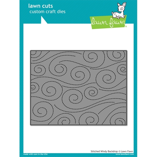 Lawn Fawn STITCHED WINDY BACKDROP Lawn Cuts LF1425 Preview Image
