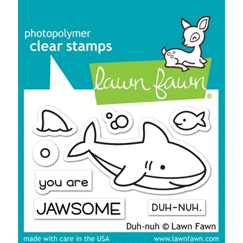 Lawn Fawn DUH-NUH Clear Stamps LF1419