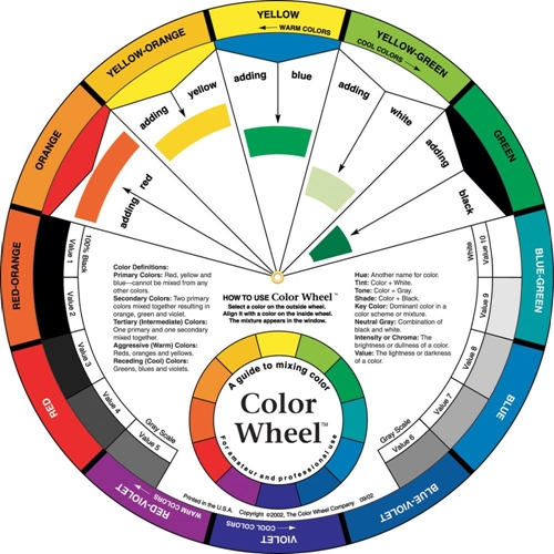 COLOR WHEEL 9.25 Inch Tool 3451 Preview Image