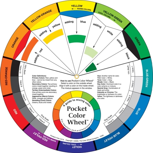 COLOR WHEEL 5.125 Inch Tool 3501 Preview Image