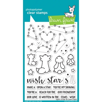 Lawn Fawn UPON A STAR Clear Stamps LF1407