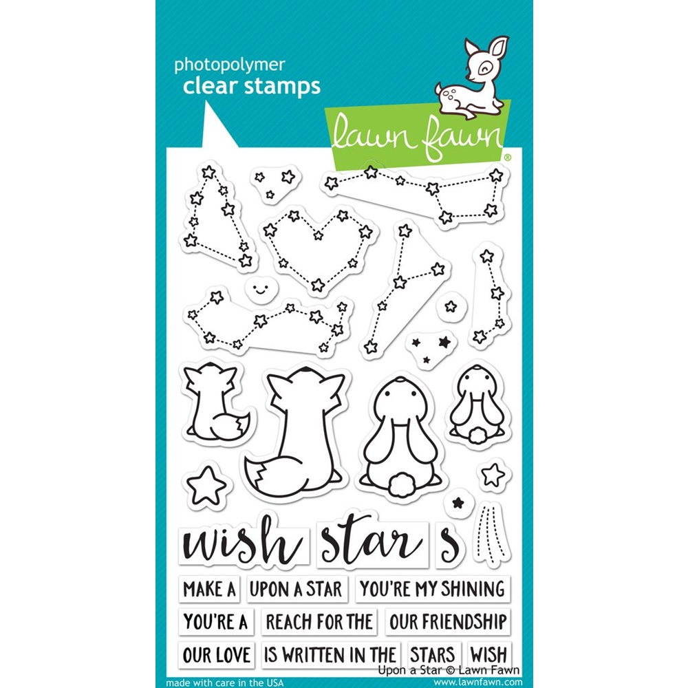 Lawn Fawn UPON A STAR Clear Stamps LF1407 zoom image