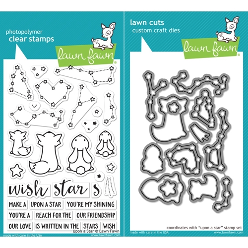 Lawn Fawn SET LF17SETUAS UPON A STAR Clear Stamps and Dies Preview Image