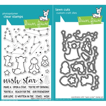 Lawn Fawn SET LF17SETUAS UPON A STAR Clear Stamps and Dies