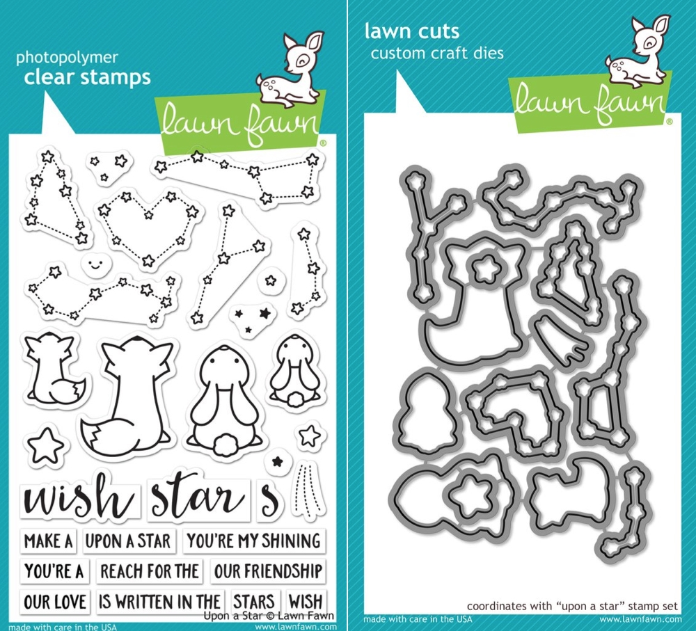 Lawn Fawn SET LF17SETUAS UPON A STAR Clear Stamps and Dies zoom image