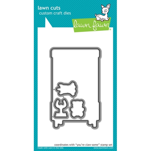 Lawn Fawn YOU'RE CLAW-SOME Lawn Cuts LF1406 Preview Image