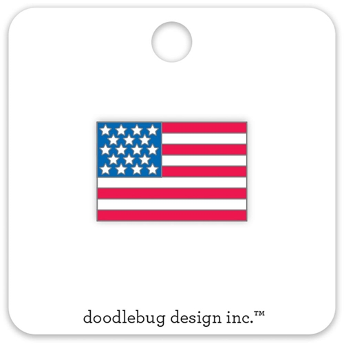 Doodlebug USA FLAG Collectible Enamel Pin Yankee Doodle 5693* Preview Image