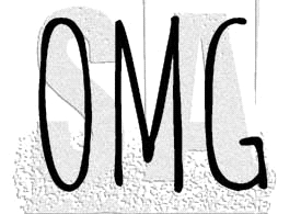 Tim Holtz Rubber Stamp OMG Stampers Anonymous C1-2948* Preview Image