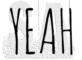 Tim Holtz Rubber Stamp YEAH C1-2950 * Preview Image