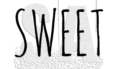 Tim Holtz Rubber Stamp SWEET Stampers Anonymous D7-2953* Preview Image