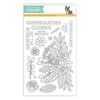 Simon Says Clear Stamps FLORAL BLISS SSS101707 *