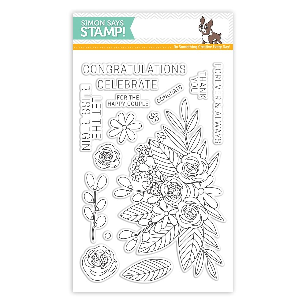 Simon Says Clear Stamps FLORAL BLISS SSS101707 * zoom image