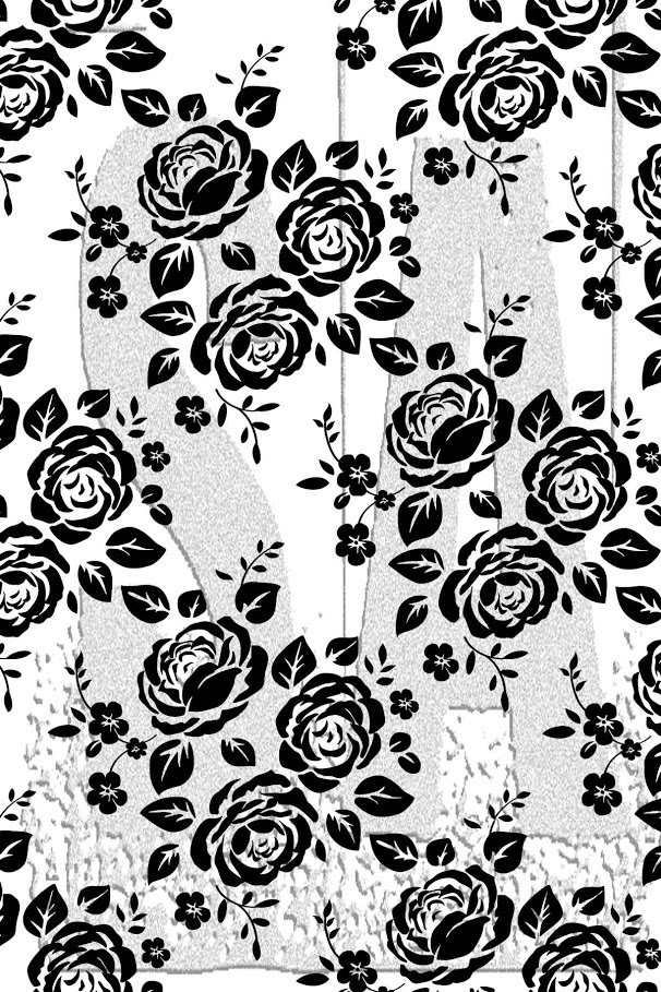 Tim Holtz Rubber Stamp ROSES Stampers Anonymous X1-2994 zoom image