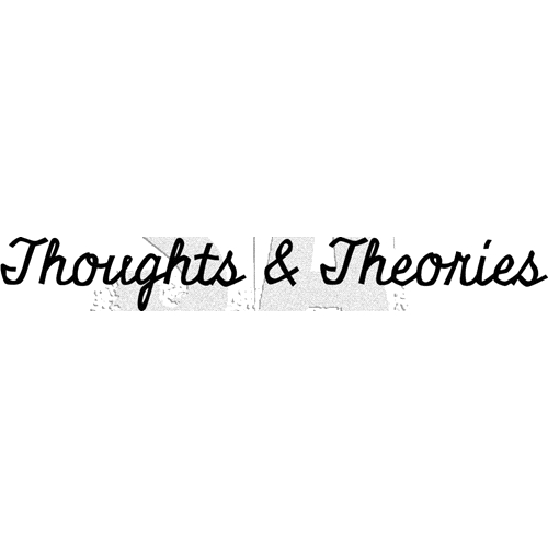 Tim Holtz Rubber Stamp THOUGHTS AND THEORIES Stampers Anonymous G3-3012 Preview Image
