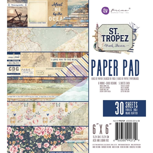 Prima Marketing ST. TROPEZ 6 x 6 Collection Kit 992729* Preview Image