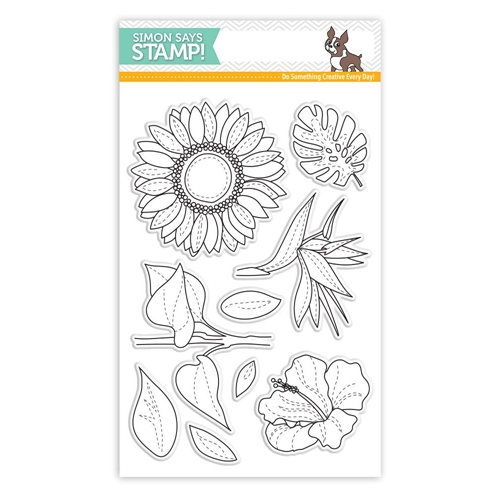 Simon Says Clear Stamps SUMMER FLOWERS SSS101726 Cherished Preview Image