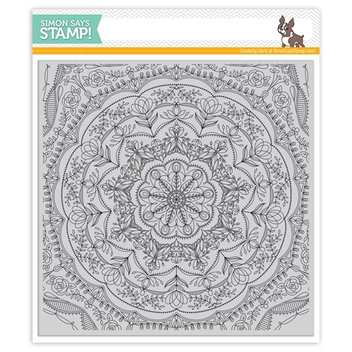 Simon Says Cling Rubber Stamp REBECCA LACE SSS101741 Cherished Preview Image