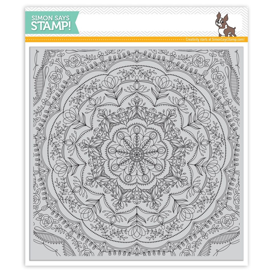 Simon Says Cling Rubber Stamp REBECCA LACE SSS101741 Cherished zoom image