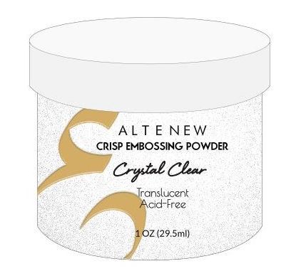 Altenew CRYSTAL CLEAR Crisp Embossing Powder ALT1726 Preview Image