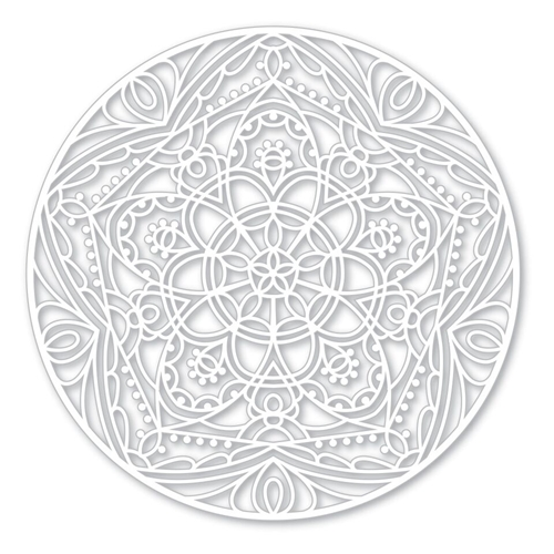 Simon Says Stamp Stencil STAR MEDALLION SSST121396 Cherished Preview Image