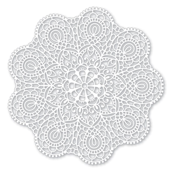 Simon Says Stamp Stencil CIRCULAR LACE SSST121395 Cherished