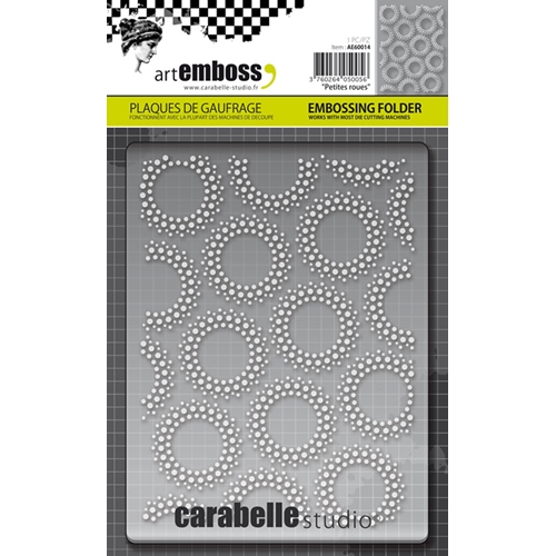 Carabelle Studio PETITES ROUES Embossing Folder AE60014* Preview Image