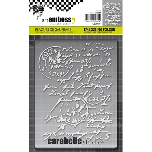 Carabelle Studio COURRIER Embossing Folder AE60007 Preview Image