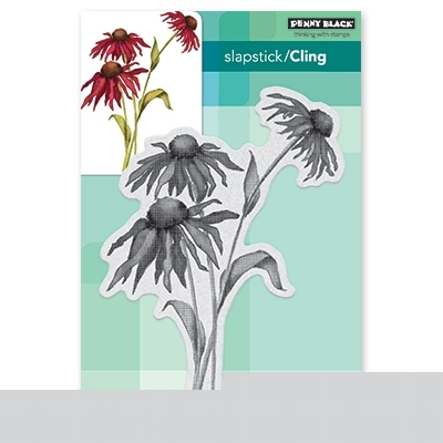 Penny Black Cling Stamp DANCING DAISiES 40-546  zoom image