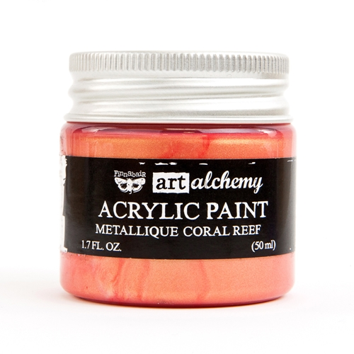 Prima Marketing METALLIQUE CORAL REEF Art Alchemy Acrylic Paint 964504 Preview Image