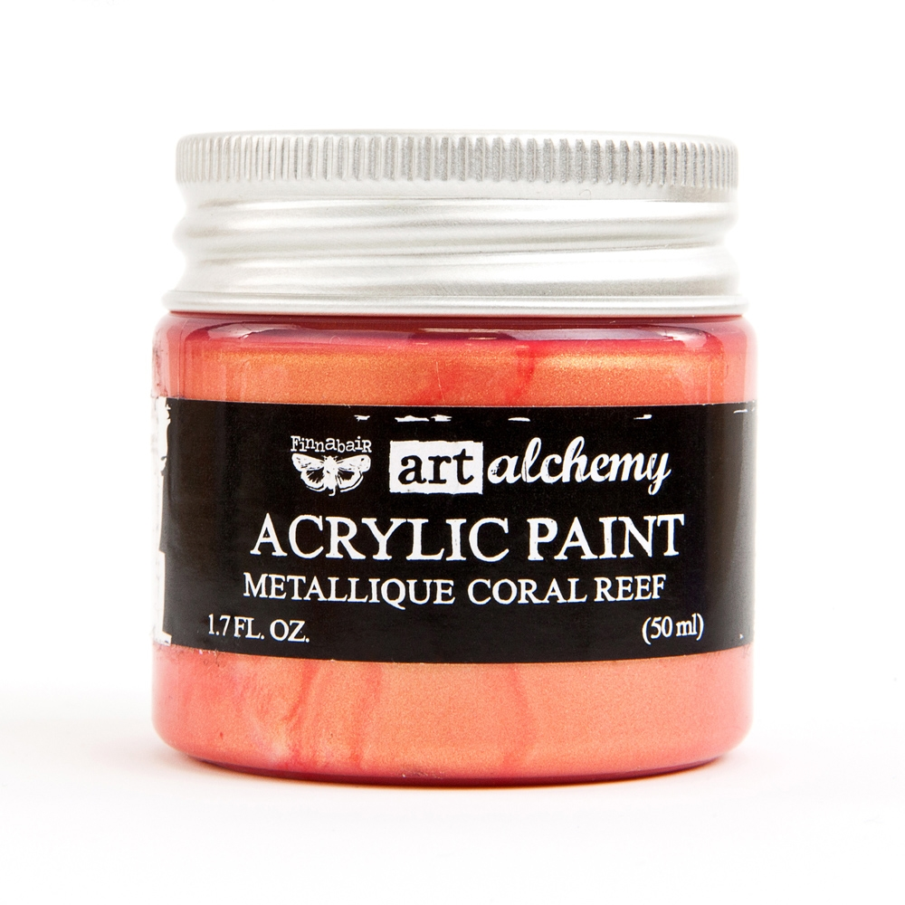 Prima Marketing METALLIQUE CORAL REEF Art Alchemy Acrylic Paint 964504 zoom image