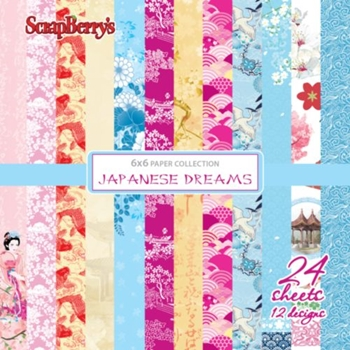 ScrapBerry's JAPANESE DREAMS 6 x 6 Paper Pack 219427