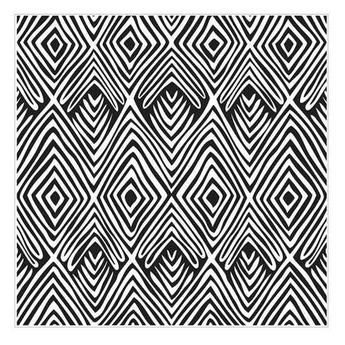 Hero Arts Cling Stamp TRIBAL STRIPES Bold Prints CG712 Preview Image
