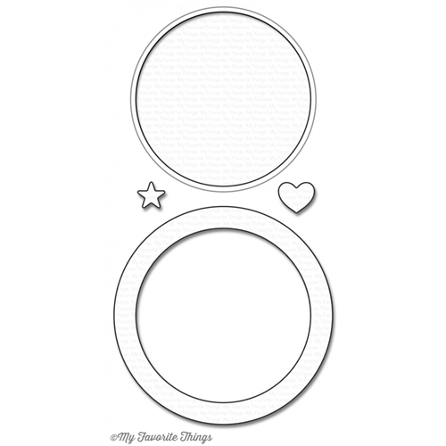 My Favorite Things CIRCLE SHAKER WINDOW AND FRAME Die-Namics MFT1099 Preview Image