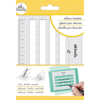 EK Success STICKY ENVELOPE ADDRESS TEMPLATE 54-02009